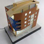 Maquette d'Immeuble de Bureaux