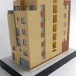 Modèle architectural de bâtiment