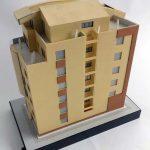 Modèle architectural Immeuble de bureaux