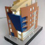 Modèle architectural Immeuble de bureaux Modèle architectural
