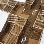 Modèle maquette Modèle d'espaces modulaires