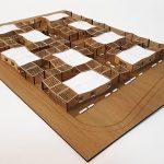 Modèle d'espaces modulaires