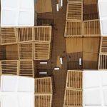 maquette Modèle d'espaces modulaires