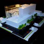 Hôpital des enfants maquette architecture