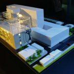 hopital d'oncologie maquette architecture
