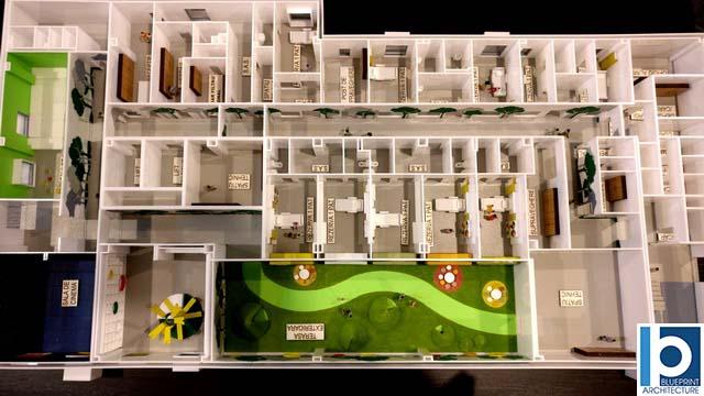 Plan Détaillé De Lhôpital Pour Enfants Maquettes Darchitecture