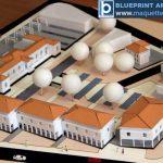 Échelle architecturale Modèle de logement