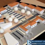 Échelle architecturale Modèle de l'ensemble