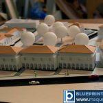 Échelle architecturale maquette d'étude