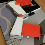 modèle caserne de pompiers