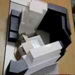 maquette architecturale d'études