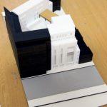 maquette d'études centre multifonctionnel