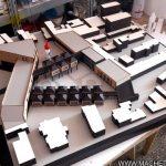 Maquette conceptuelle l'école