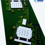 Maquette industrielle d'usine
