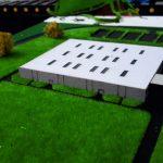 Maquette entrepôt industriel