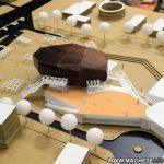 Modèle architectural du centre culturel