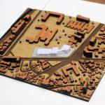 maquette urbanistique échelle 1/500