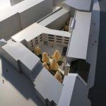 modèle 1:200 du Centre culturel