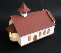 maquette Église orthodoxe