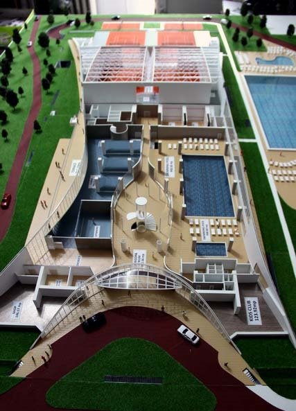 Maquette du Complexe Sportif – Country Club Stejarii