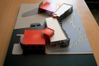 Maquette d'architecture Service départemental d'incendie