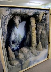 La grotte Diorama