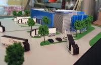Maquette d'usine EltraLogis