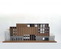 Maquette architecturale de Banque