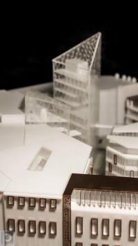 Maquette architecturale Bâtiment bureau