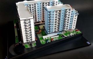maquette de Résidence immobilière pour Promotion