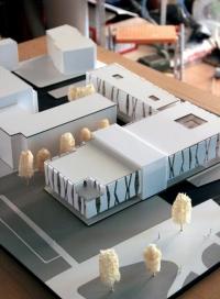 Maquette architecturale du Centre Culturel