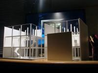 Maquette conceptuelle résidence cubique