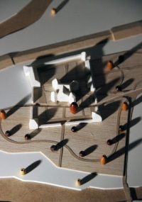 Maquette du Chateu