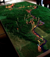 Maquette topographique