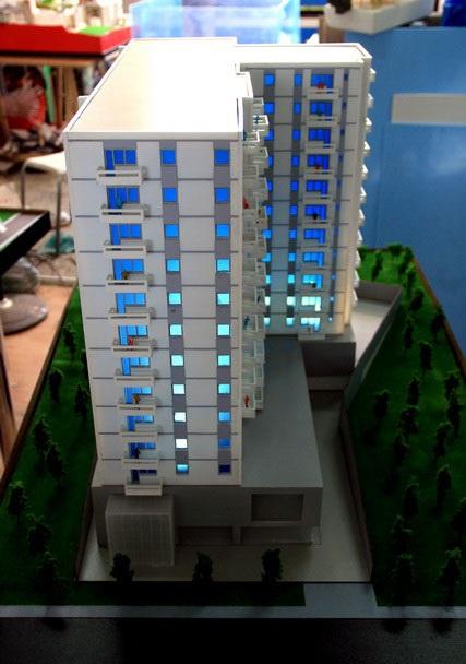 Les avantages de présenter une maquette d'architecture