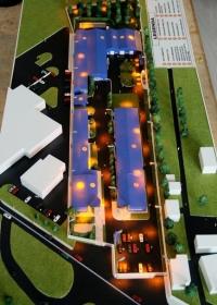 Maquette usine Conphys