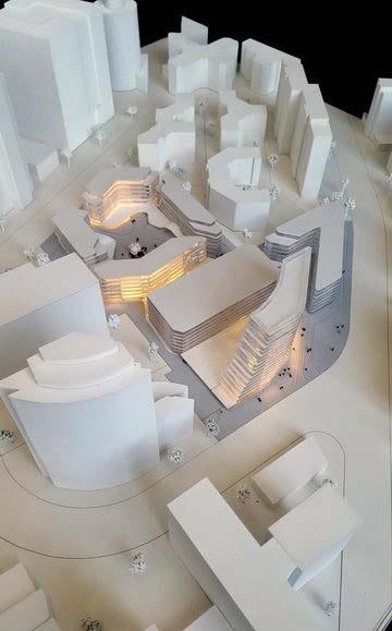 Maquettes d'Immeubles de Bureaux – Eschborn, Allemagne