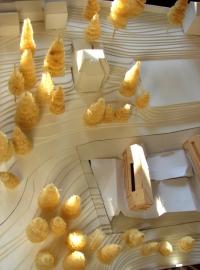 maquette Maison d'hôtes touristique