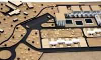 Maquette conceptuelle d'un complexe thermal