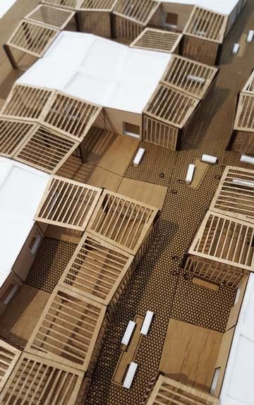 Modèle espaces modulaires
