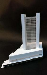 Maquette de gratte-ciel