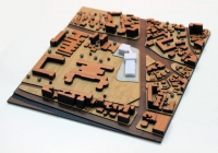 Maquette urbanistique