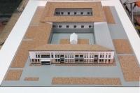 modèle d'architecture ancienne de la Chine