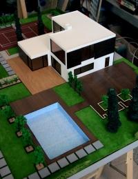 Maquette Maison individuelle