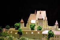 Maquette de l'église fortifiée de Biertan