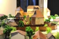 maquette L'église fortifiée de Calnic