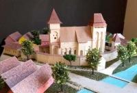 maquette de L'église médiévale Valea Viilor