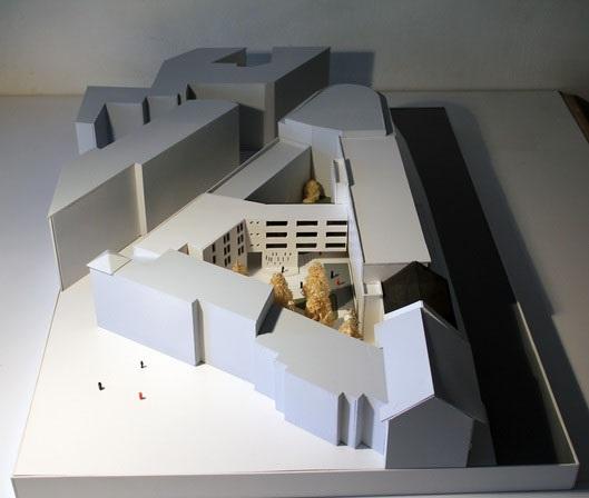 Maquette du Centre culturel