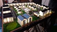 Maquette d'un complexe immobilier