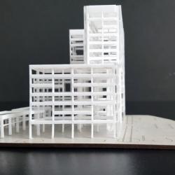 Maquette Bâtiment des bureau